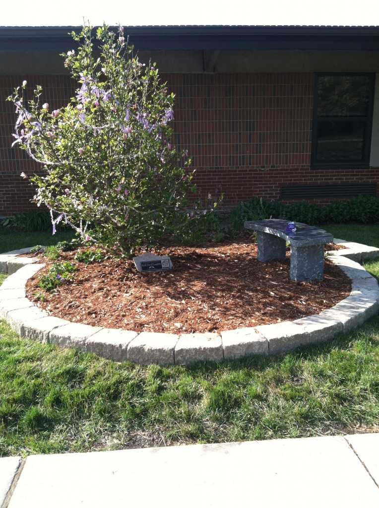 Highlands Middle School Peace Garden Dedication