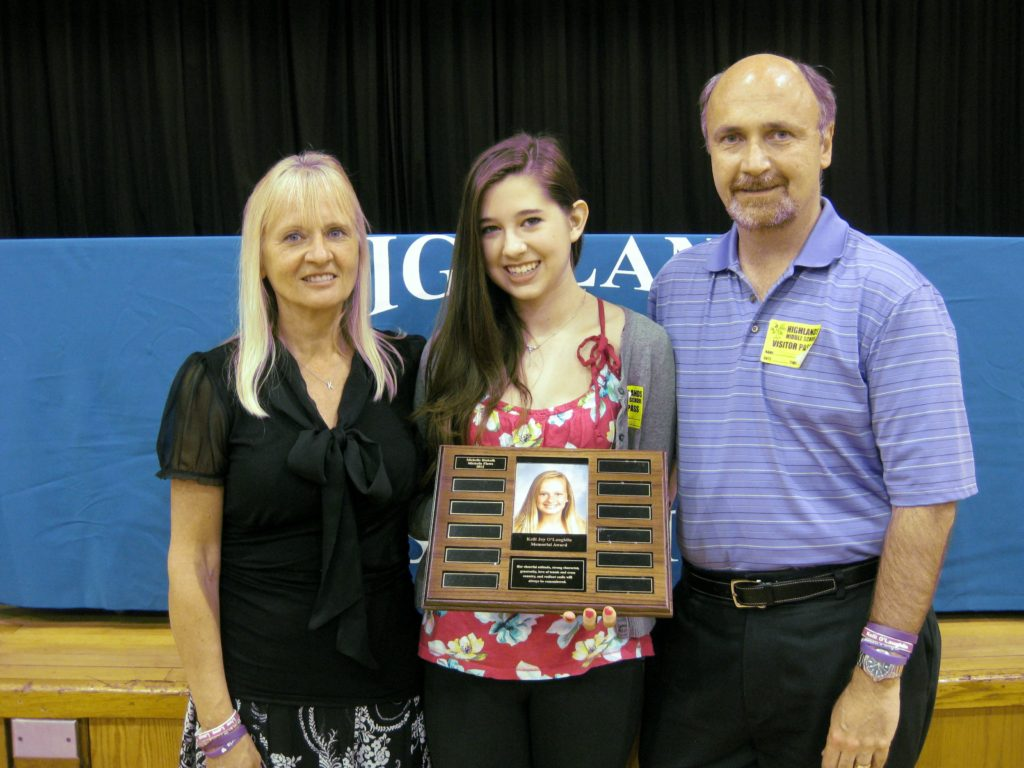 Highlands Middle School Honors Day