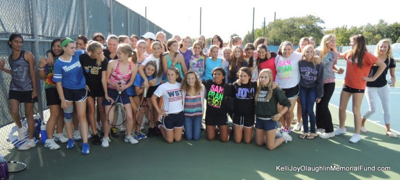 LTHS Girls Tennis Team New Uniforms