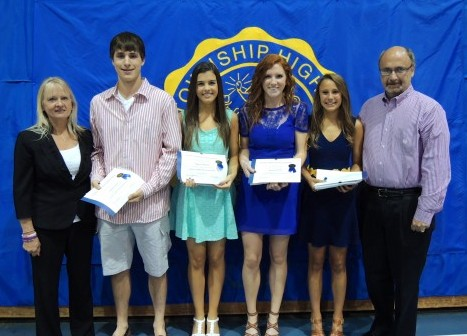KJO Scholarship recipients from Lyons Township for 2013