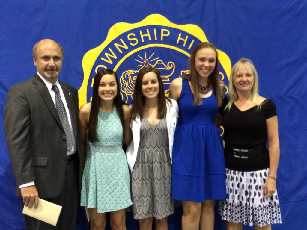 LTHS KJO Memorial Scholarship Recipients 2014