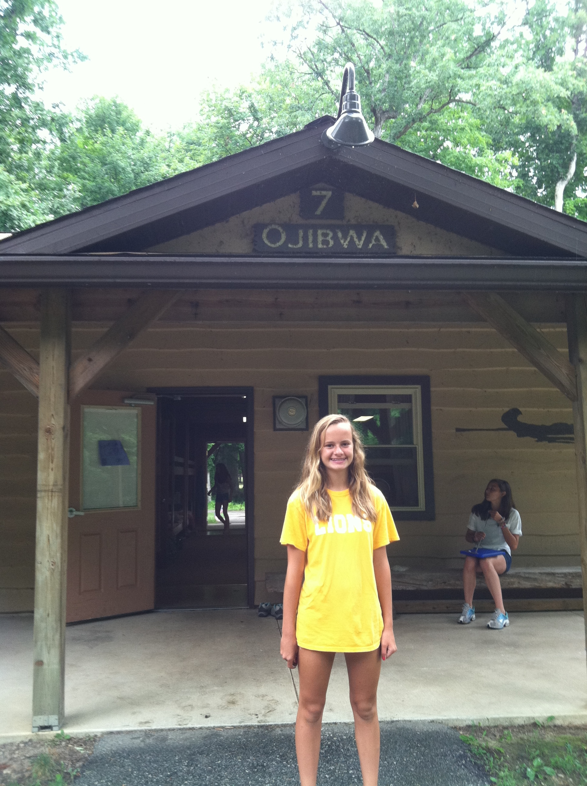 Kelli 39 s legacy lives on at camp tecumseh kelli joy o for Laughlin cabins