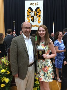 Kelli Joy O'Laughlin Scholarship Recipient from Hinsdale South Jenna Stobble