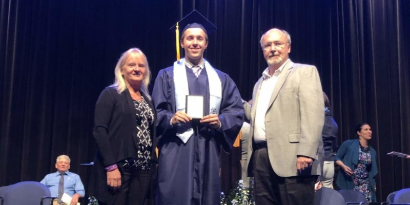 Announcing KJO Memorial Scholar from Downers Grove South, Trevor Owcarz