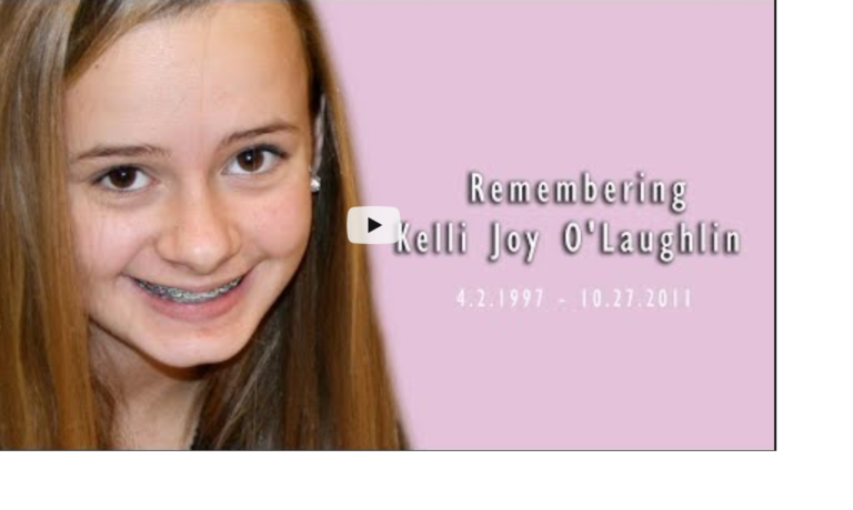 Remembering Kelli Joy O'Laughlin – 8 years on