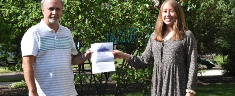 Announcing KJO Memorial Scholar from LTHS for 2020, Angelina Godinez